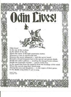 Odin Lives