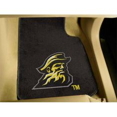 Appalachian State Mountaineers NCAA Car Floor Mats 2 Front