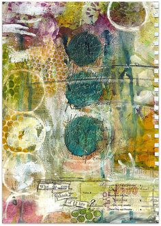 WHY DO YOU THINK art journal page by Robes-Pierre, via Flickr