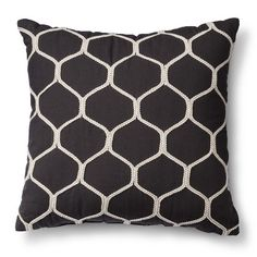 We're looking for new pillows. I don't care much about where they come from, but we like solid grays in various shades, and black in geometric designs that are easy to mix and match (like this one from target!) Not crazy about pillows with words on them or cutesy designs. Feel free to go crazy on pillows if you find some good ones! I always feel like I need more.