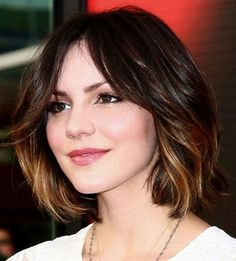 Ombre works for short hair too!