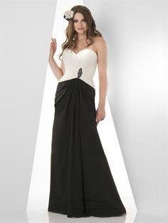 Sweetheart Shirred Waist Fit and Flare Bridesmaid Dresses