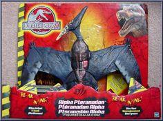 Hasbro Jurassic Park III: Ultimate RE-AK A-TAK Alpha Pteranadon 2001