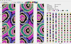 Loom bead, alpha pattern, or cross stitch chart