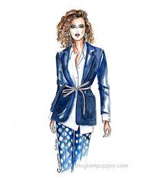 Tendenze moda | Il blazer | Giovanna Sitran | The Glam Pepper