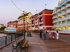 Picture of the Disney Boardwalk in Orlando, Florida