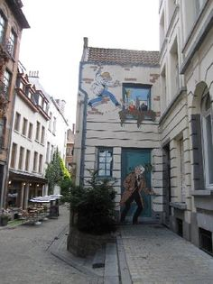 Talk a walking tour of Brussels following the Comic Strip Trail, a 3-mile series of 30 murals painted on building walls. Located throughout the city, make it a game to identify the classic Belgian cartoon characters.