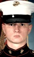 Marine LCpl. Neil D. Petsche, 21, of Lena, Illinois. Died December 21, 2004, serving during Operation Iraqi Freedom. Assigned to 1st Battalion, 7th Marine Regiment, 1st Marine Division, I Marine Expeditionary Force, Marine Corps Air Ground Combat Center, Twentynine Palms, California. Died of injuries sustained in a non-hostile incident when his vehicle crashed and rolled over in Qaim, Anbar Province, Iraq.