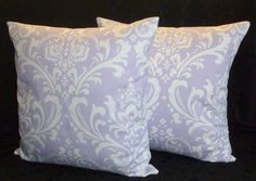 Decorative Accent Throw Pillow Covers  Lavender and by berly731, $34.99