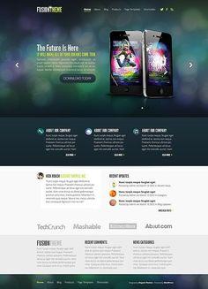 Fusion WordPress Theme - Elegant Themes