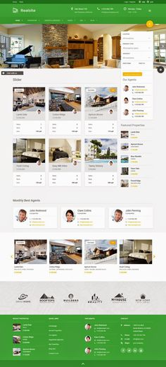 Best Responsive Real Estate WordPress Theme 2015: Realsite is advanced #realestate #WordPress theme. It is a result of years of development in real estate industry. Theme is completely covering needs of real estate agencies or portals. It has absolutely new features like property and search statistics, multiple currencies or #property comparison.