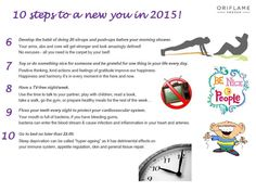 10 Steps to a NEW YOU...6 - 10