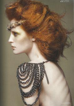 Rococo Inspired Hair