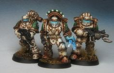 40k - Death Guard Space Marines by Richard Gray