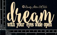 The Dusty Attic - DA1603 Dream With Your Eyes