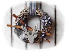 Türkränze - :::::★:::★ Türkranz Weihnachten ★:::★::::: - ein Designerstück von Flora89 bei DaWanda