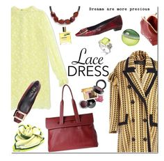 Lovely Lace Dresses by mada-malureanu on Polyvore featuring Giamba, Burberry, Lagos, Marina Rinaldi, Chanel, DKNY, Nuxe, lacedress and dudubags