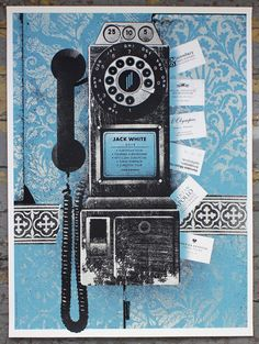 Jack White Posters by Alan Hynes