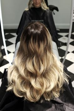Sharp Ombre made by @styleelin