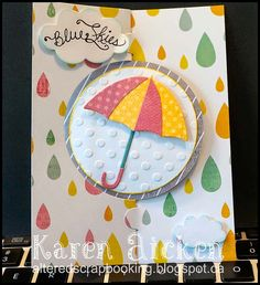New Card Die ... A Pop it Ups SPIRAL CIRCLE PULL CARD die by Karen Burniston for Elizabeth Craft Designs. Shipping mid July 2014