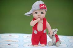 *POLYMER CLAY ~ Ooak Polymer Clay Full Sculpt Baby Kevin BY Tatyana   eBay