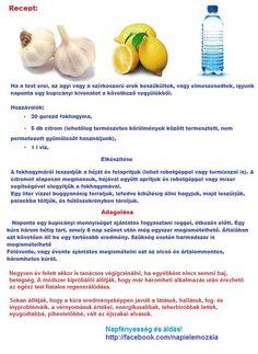 szívkoszorú erek meszesedése ellen:fokhagyma-citrom Alternative Therapies, Natural Healing, Life Hacks, Vitamins, Remedies, Hair Beauty, Medical, The Originals, Healthy