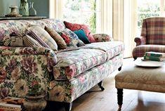Tecidos Sanderson, colecção Caverley Prints. À venda na Nova Decorativa! #decoração #tecidos #homedecor #fabrics #Sanderson