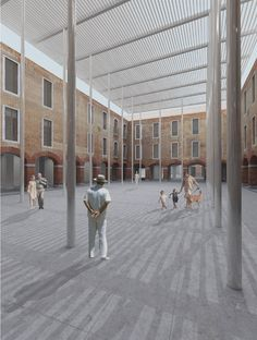 David Chipperfield Architects — M9 - Nuovo polo culturale a Venezia-Mestre — Europaconcorsi