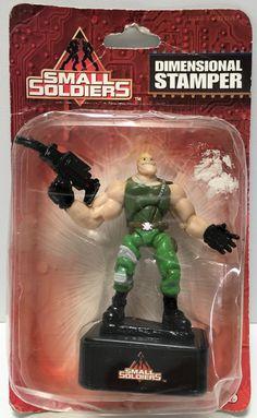 (TAS034760) - 1998 DreamWorks Small Soldiers Dimensional Figurine Stamper