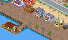 The Simpsons Tapped Out ~ My Squidport Pt.2.. Houseboat & Stands..