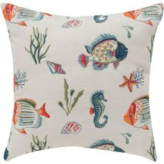 Better Homes and Gardens Fishtails Decorative Pillow