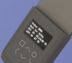 The phone case is designed to detect whether your phone's radio is transmitting