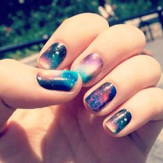nails galaxy Gifs torture