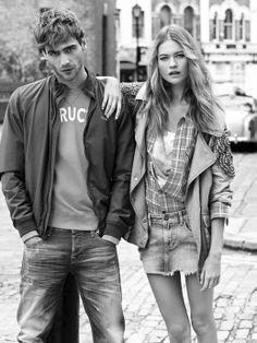 #fashion #couple #spring #blackandwhite