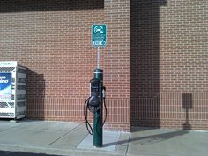 Now if we could get more charging stations in Maryland I may just buy an electric car! This one is in front of a Walgreens off Bel Air road in Nottingham, MD