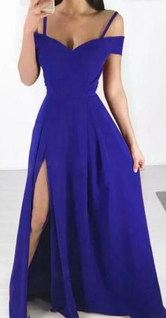 Royal Blue Long Prom Dress , Sexy Satin Prom Dress, Never miss out on the trendy, in-style dresses ever again! You can be the star of your prom in your 2020 prom dress! School Dance Dresses, Prom Dresses, Formal Dresses, Dress Prom, Elegant Dresses, Sexy Dresses, Summer Dresses, Winter Dresses, Long Dresses