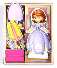 Take a look at this Sofia the First Wooden Doll Set by Sofia the First on #zulily today!