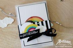 Love, Kayla: Sunshine & Rainbows - Stampin' Up! Artisan Blog Ho...
