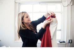Kimberly Ovitz in her studio!