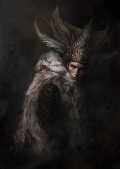 Feather and Fur, Gerry Arthur on ArtStation at https://www.artstation.com/artwork/feather-and-fur