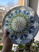 Alina Nureeva's photos Ceramic Design, Mandala Art, Old Friends, Stained Glass, Decorative Plates, Photo Wall, Pottery, Paintings, Licence Plates