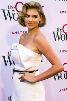 On the red carpet for the Amsterdam premiere of the <em>The Other Woman</em> in the Netherlands on April 1, 2014. -Cosmopolitan.com