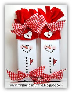 Free Snowman Candy Wrapper Templates | Snowmen Candybars