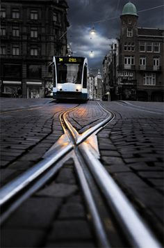"""Perspective in Photography by Sudipta Shaw. Photo: perspective in photography """"night bus"""" captured by David Hobcote. http://www.picturecorrect.com/tips/perspective-in-photography/"""