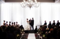 Ceremony shot in the Ballroom.