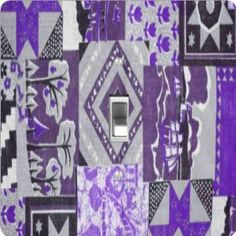 "Rikki KnightTM Purple Patchwork Quilt - Single Toggle Light Switch Cover by Rikki Knight. $13.99. The Purple Patchwork Quilt single toggle light switch cover is made of commercial vibrant quality masonite Hardboard that is cut into 5"" Square with 1'8"" thick material. The Beautiful Art Photo Reproduction is printed directly into the switch plate and not decoupaged which make these Light Switch Plates suitable for use in any room in the office, home, etc. etc.. Thes..."