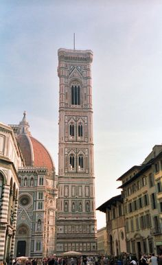 Bell tower of Giotto, Florence, Tuscany, Italy
