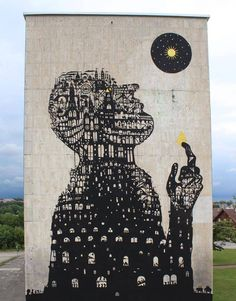"Sam3 @Schwäbischhall, Germany""Icaro construyendo la torre de babel"" Schwäbischhall, Germany: new piece by Spanish artist Sam3 for the METROPOLINK Festival.USEFUL LINKS: Sam3 in this blog 