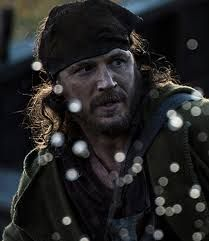 Hypervigilant. Connected in Survival Mode. Tom Hardy in The Revenant