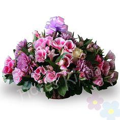 Canasto de Flores Silvestres